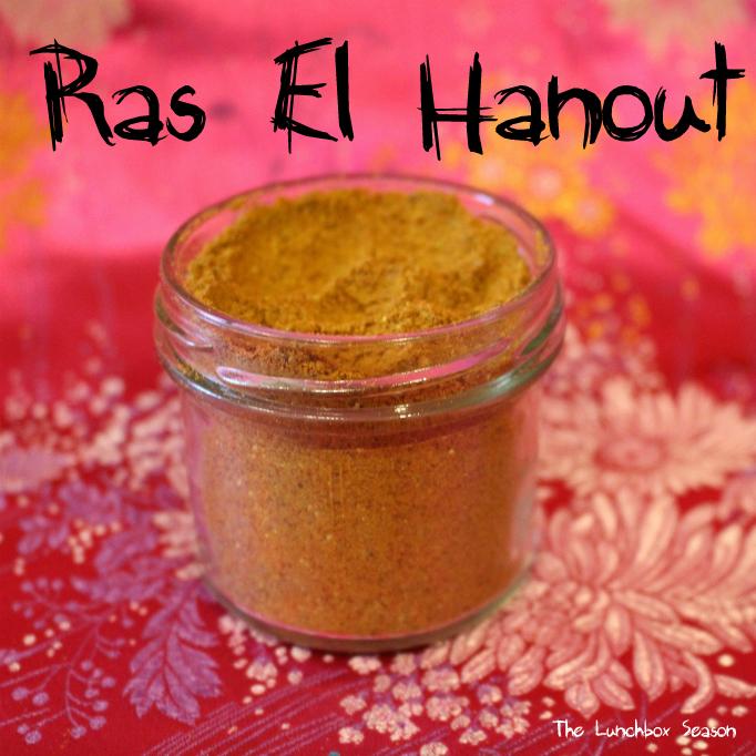 Ras El Hanout Recipe from the Lunchbox Season