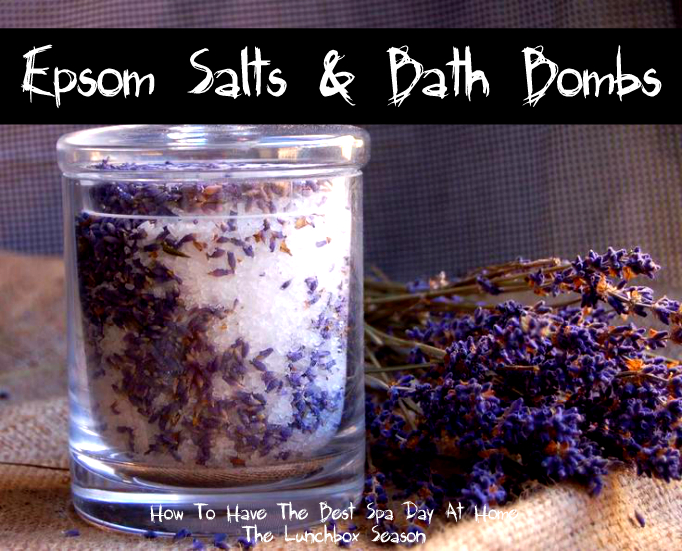 Epsom Salts and Bath Bombs How to Have the Best Spa Day at Home