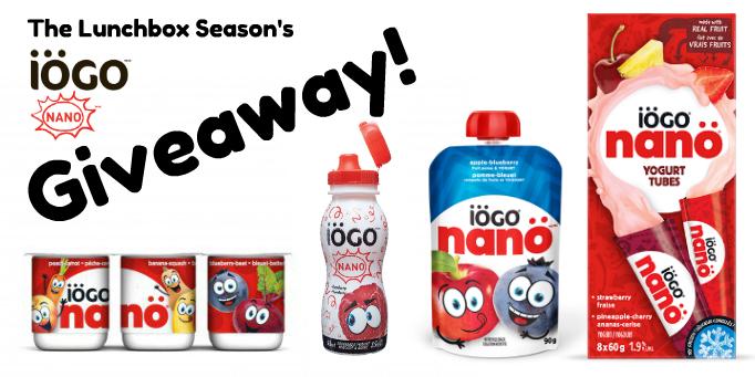 The Lunchbox Season's Iögo nanö giveaway