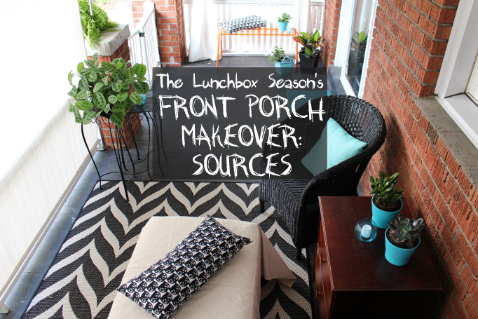 The Lunchbox Season's Front Porch Makeover SOURCES
