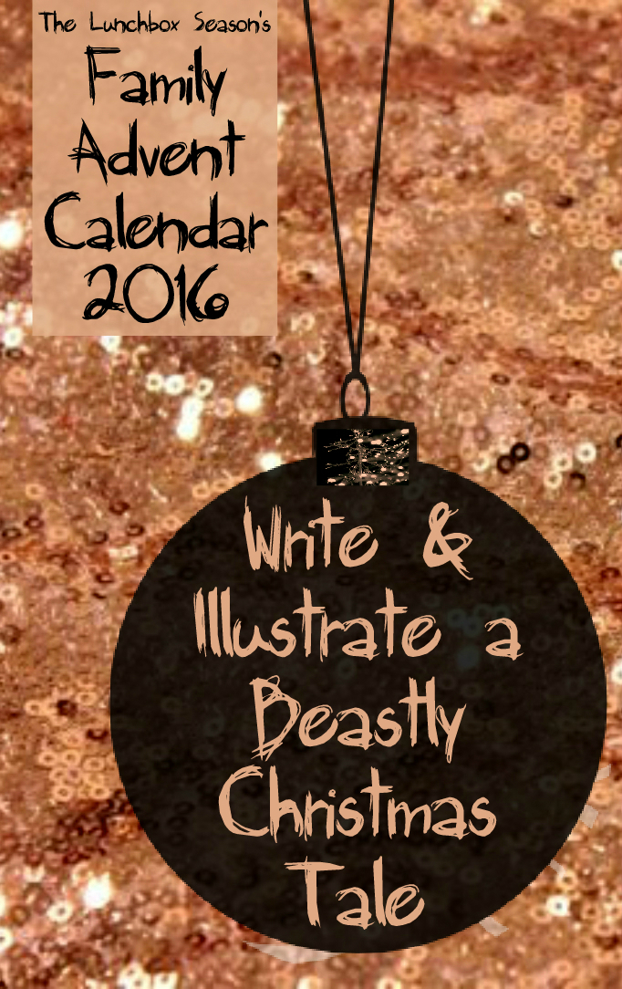 12-write-and-illustrate-a-beastly-christmas-tale-daily-advent-calendar-2016