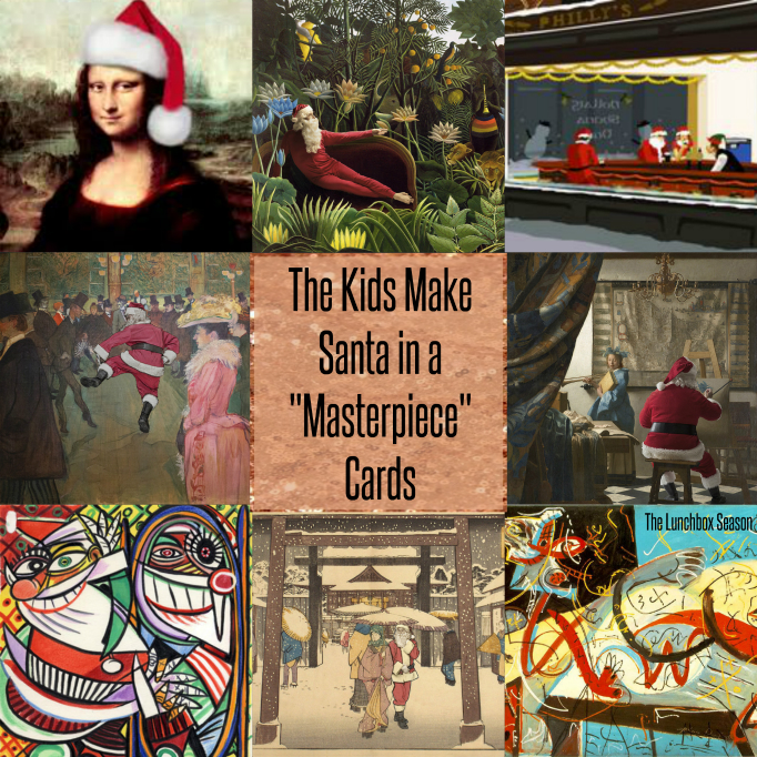 the-kids-make-santa-in-a-masterpiece-cards